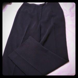 Ann Taylor 2P Charcoal herringbone suit trousers